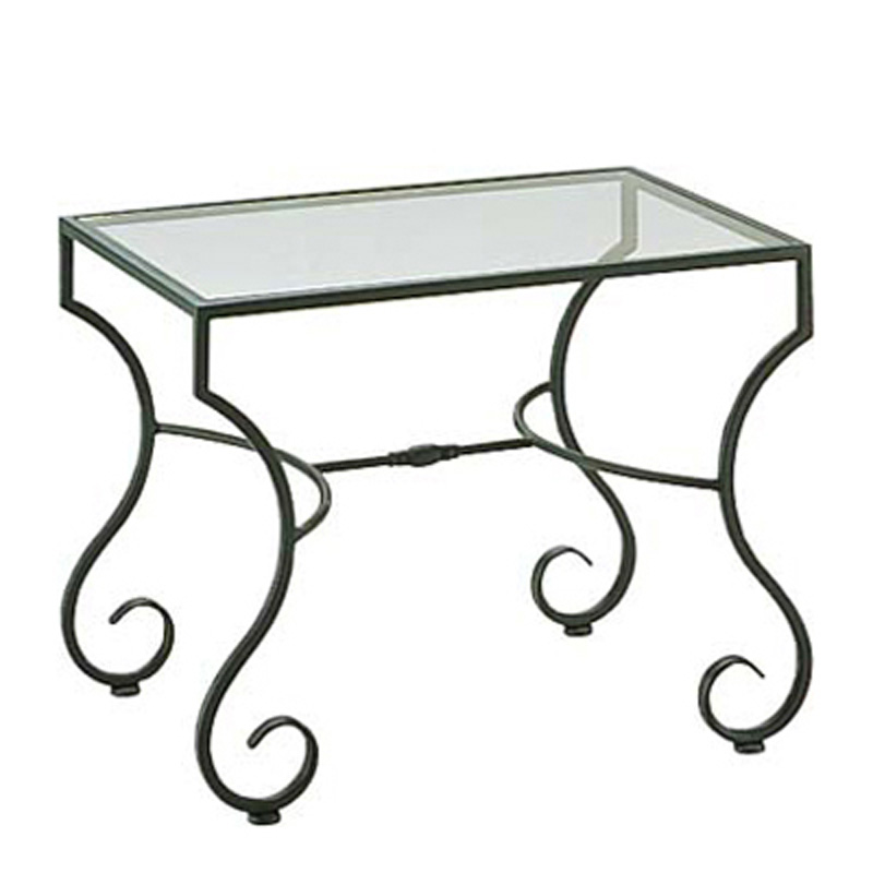 Woodard 3c0039 Sheffield End Table Clear Glass Discount