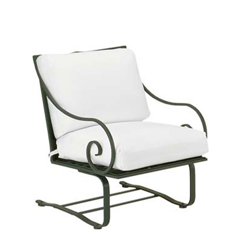 Woodard 3c0065 Sheffield Spring Lounge Chair With Cushions