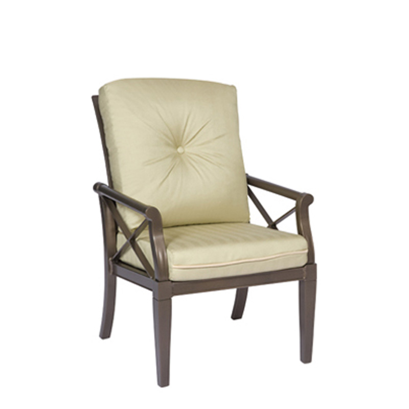 Woodard Andover Dining Arm Chair Discount Furniture
