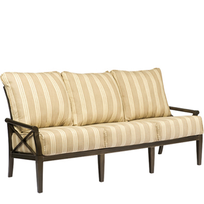 Cheap Furniture Delivered: Woodard 510420 Andover Sofa Discount Furniture At Hickory