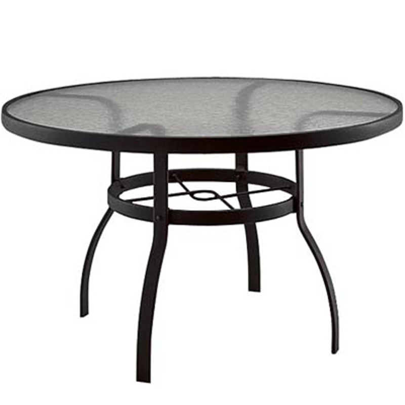 Woodard 827148w Tables Accessories And Bases Tables Accessories Bases Deluxe 48 Inch Round
