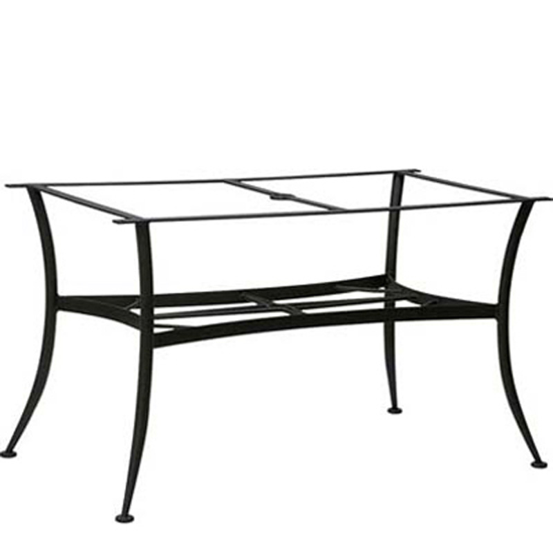 Dining Tables And Bases Wrought Iron Large Dining Table Base Only