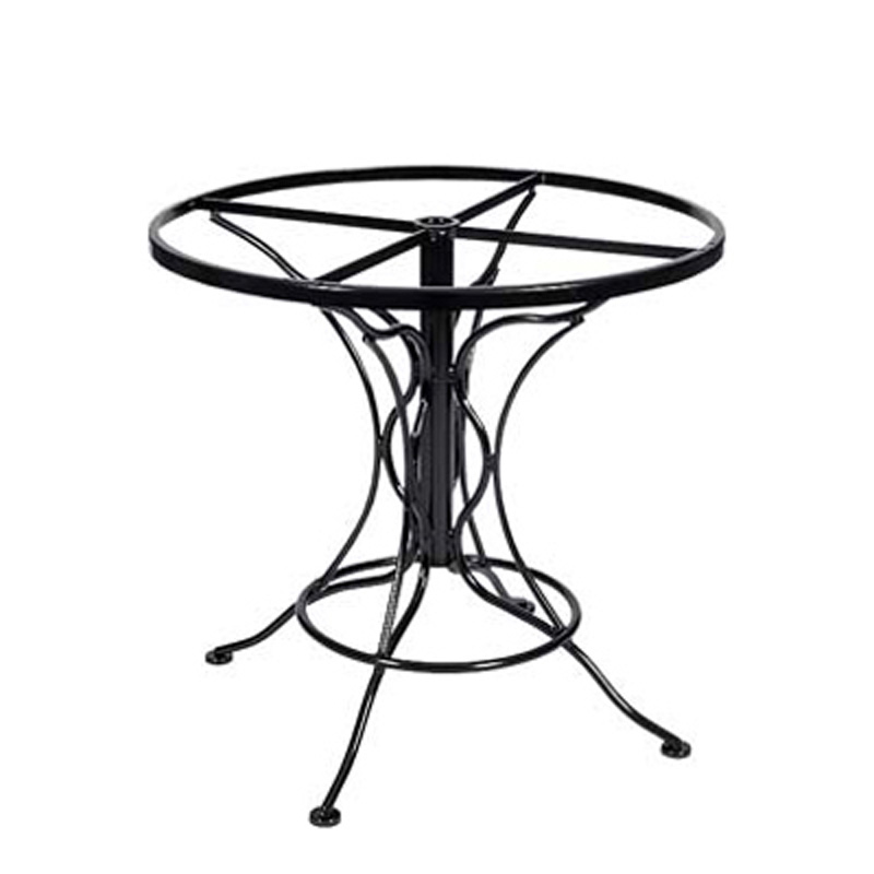 Woodard 88F336 Dining Tables And Bases Wrought Iron Dining ...