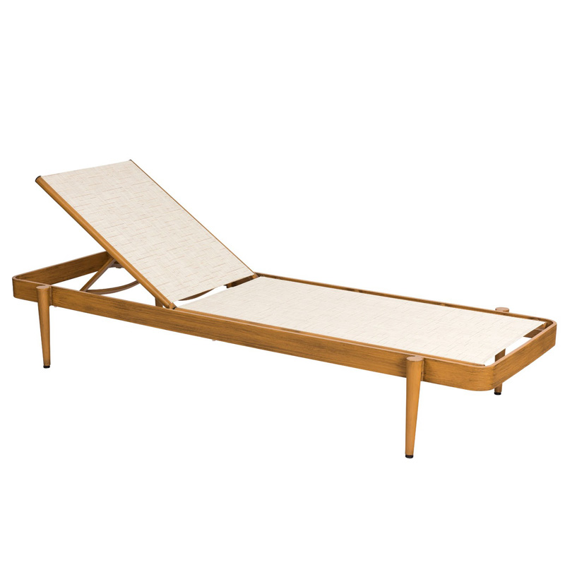 Woodard Daytona Sling Chaise Lounge Stacking Discount Furniture at Hic