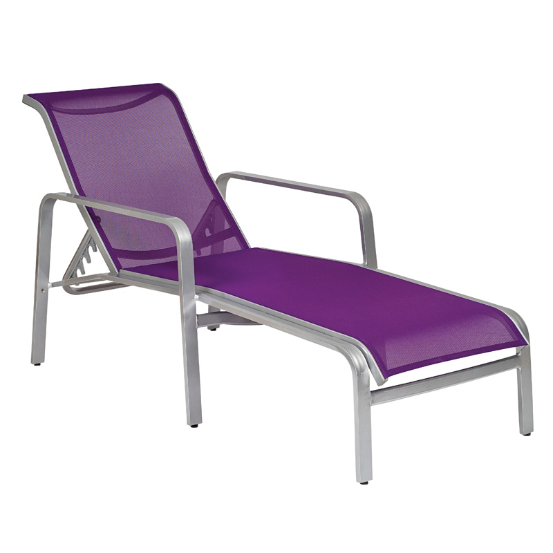 Woodard 6g0470 Landings Sling Adjustable Chaise Lounge