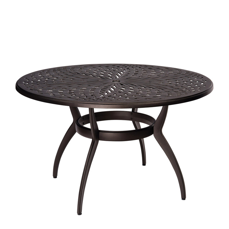 WICKER UMBRELLA TABLES OUTDOOR AND PATIO Hickory Park Furniture - 54 round patio table