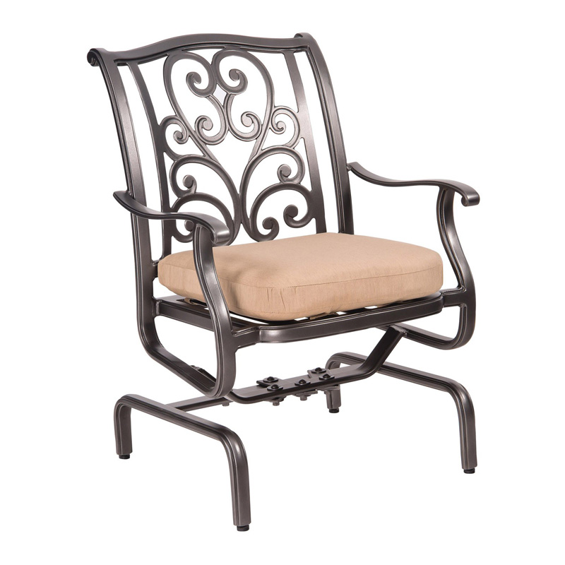 Woodard 3w0405 New Orleans Spring Rocker Dining Arm Chair Discount Furniture At Hickory Park