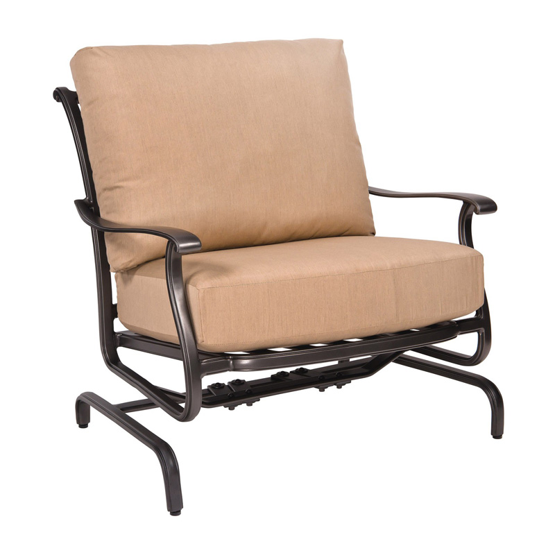 Woodard 3w0465 New Orleans Spring Lounge Chair Discount Furniture At Hickory Park Furniture