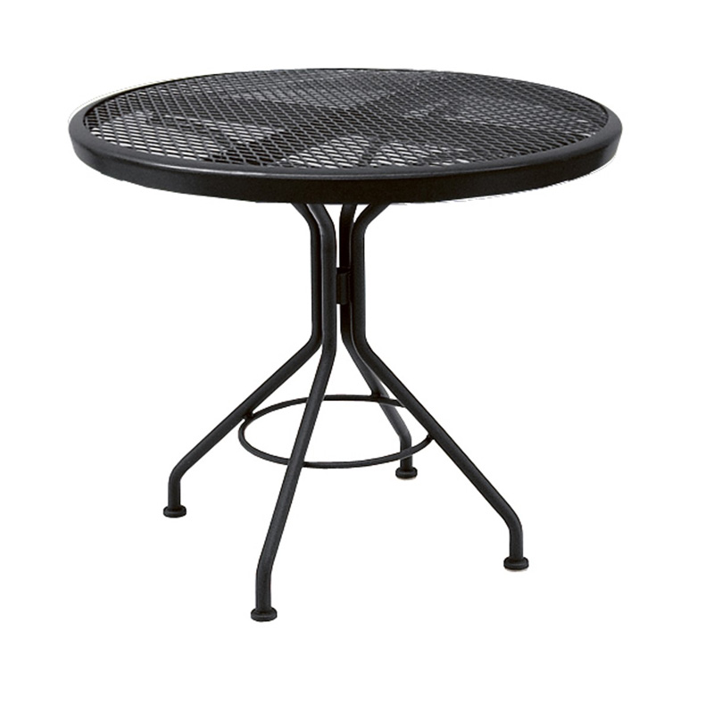 Textured Black Contact 30 Inch Round Bistro Table 280134N.92