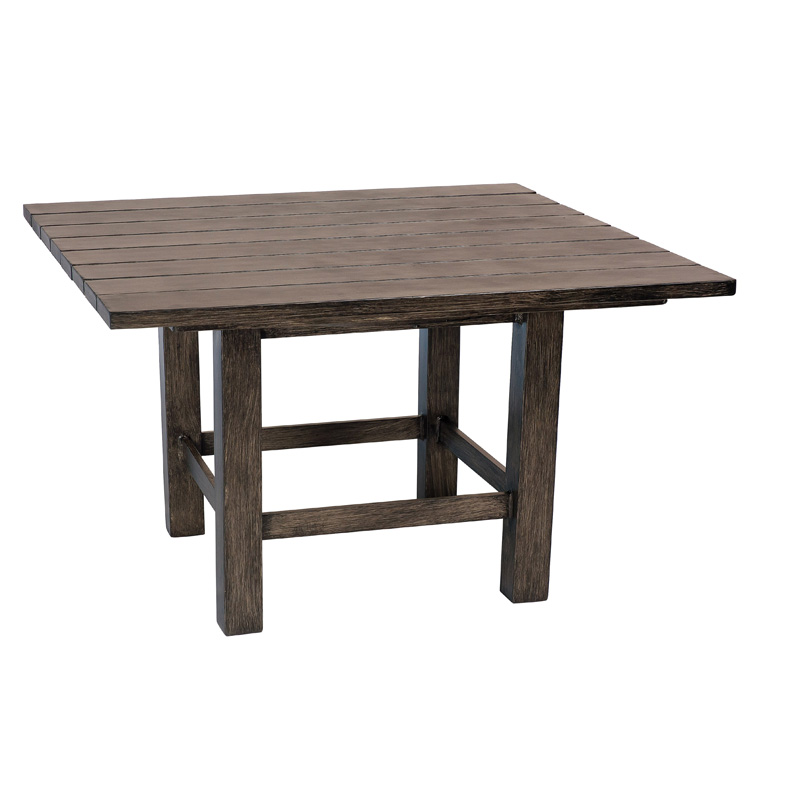 Woodard S592203 Augusta Woodlands Square End Table Discount Furniture At Hickory Park Furniture