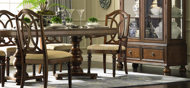 bellewood dining room collection by bassett shop hickory