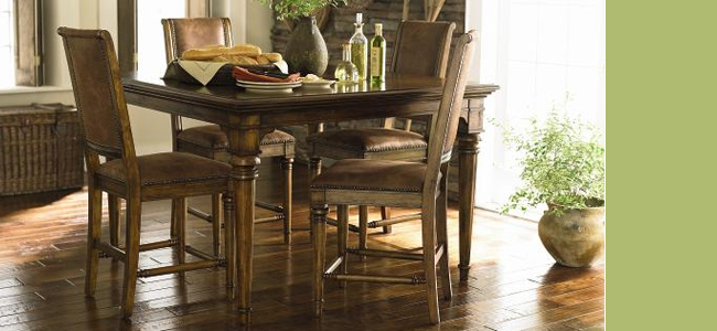 sonoma dining room collection by bassett shop hickory park