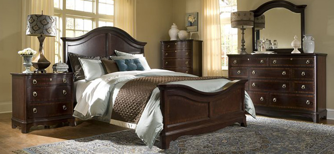 Ferron court bedroom collection by broyhill shop hickory park furniture galleries Broyhill master bedroom sets