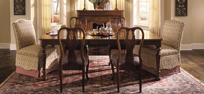 American journal dining room collection by kincaid shop for Kincaid american journal bedroom furniture