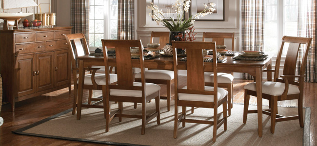 Cherry Park Dining Room Collection by KINCAID shop Hickory Park ...