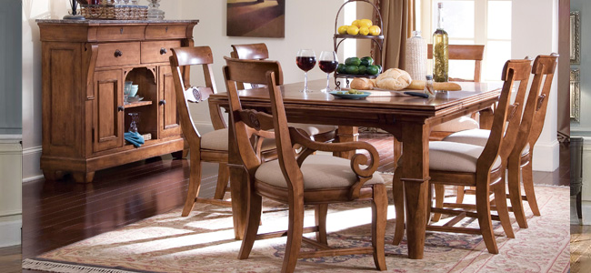Bon Tuscano Dining Room Collection By KINCAID