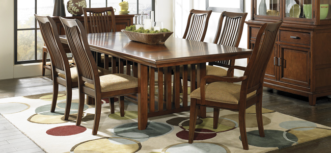 Autumn Park Trestle Dining Room Collection by LEGACY CLASSIC