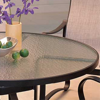 Acrylic and Glass Tables Tropitone