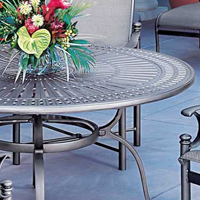 Cast Aluminum Tables Tropitone