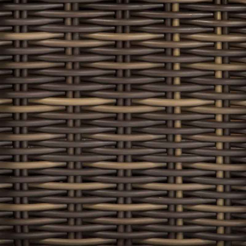 Woodard woven-finish